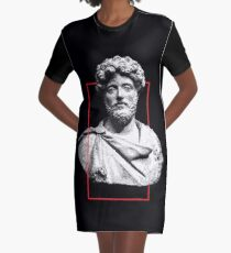 """Bust of """"someone"""" Graphic T-Shirt Dress"""