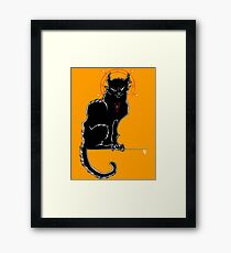 Salem - The Original Chat Noir Framed Print