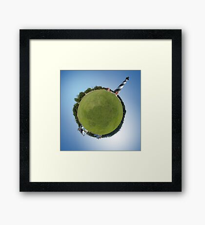 Lighthouse World Framed Print