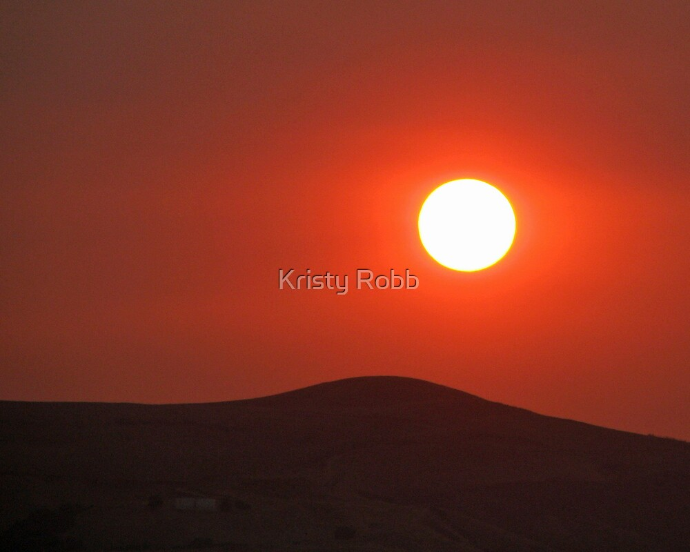 Red Sunrise by Kristy Robb