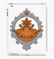 Cinnamon frame iPad Case/Skin