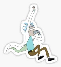 Rick And Morty - Simplistic Rick Case Sticker