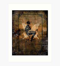 Devil Ride Art Print
