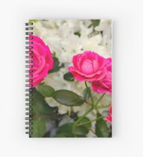 The Faries in My Garden Wanted Roses Spiral Notebook