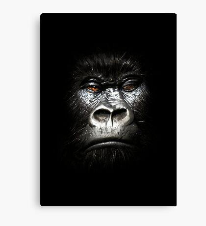 King Gorilla Canvas Print