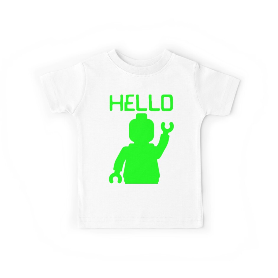 Minifig Hello by ChilleeW