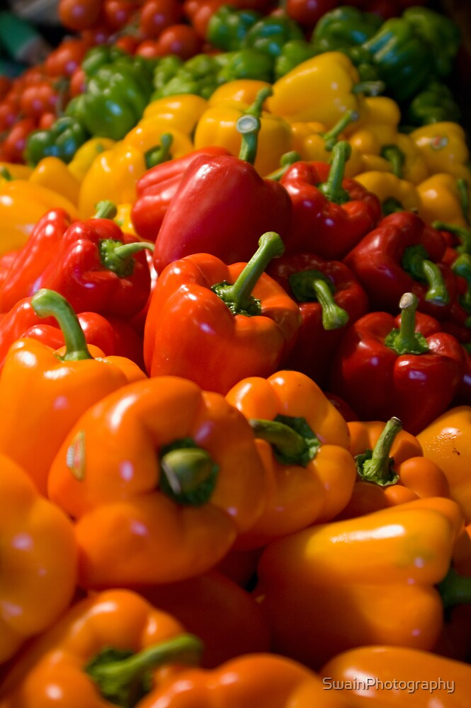 Peppers by SwainPhotography