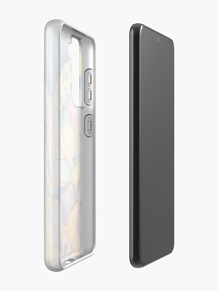 Alternate view of Apple Wellness Happy Days Case & Skin for Samsung Galaxy