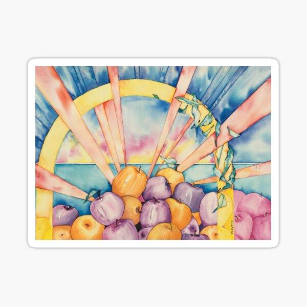 Apple Wellness Happy Days Sticker