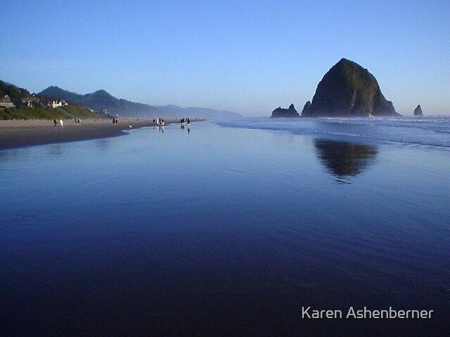 Cannon Beach Oregon by Karen Ashenberner