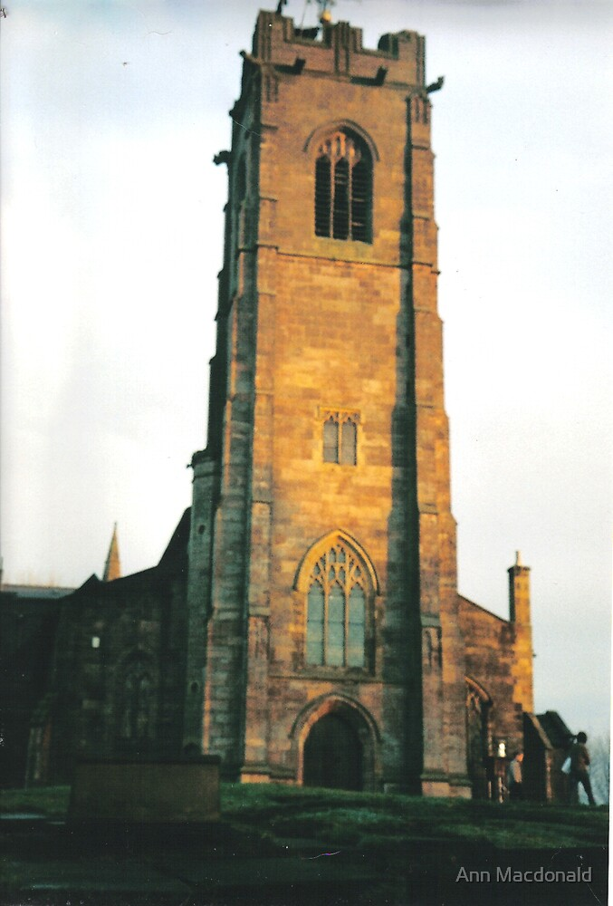 St Marys church prestwich by Ann Macdonald