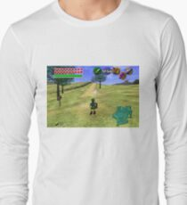 Camiseta de manga larga Ocarina of Time Young Link