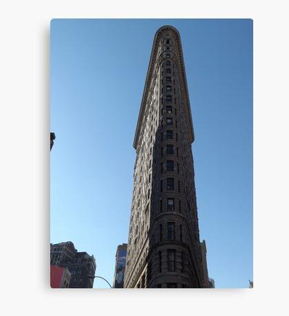 Classic Flatiron Building, New York City Canvas Print