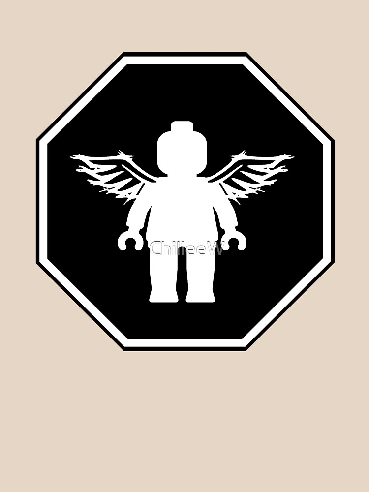 ANGEL MINIFIG ROADSIGN by ChilleeW