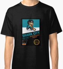 8 Bit Shark City Art Box Classic T-Shirt