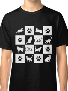 Chess board cats Classic T-Shirt