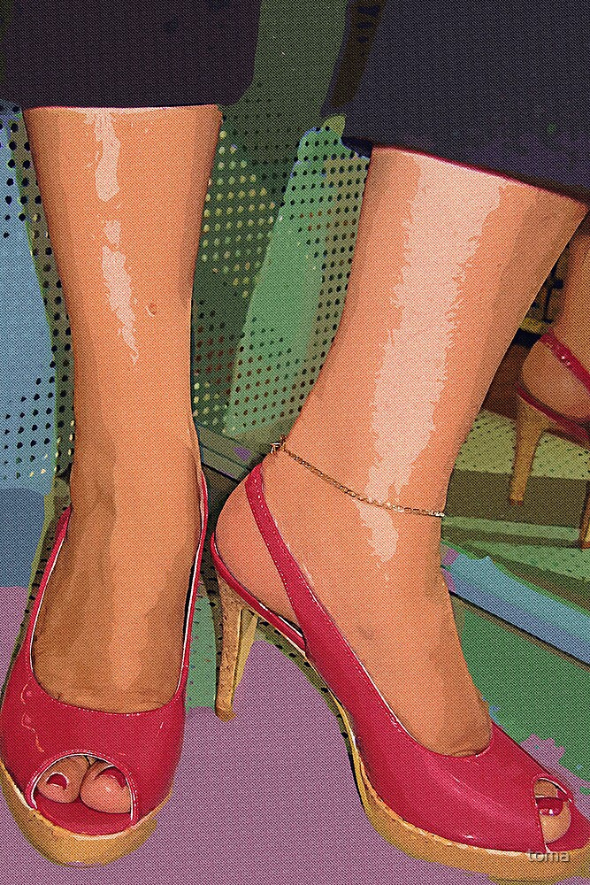 the red shoes by toma