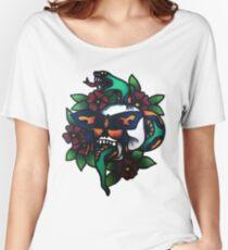 Snake Skin Women's Relaxed Fit T-Shirt