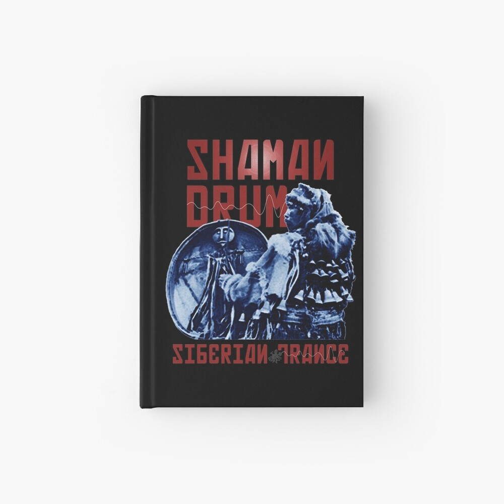 Shaman Drum Siberian Trance Hardcover Journal