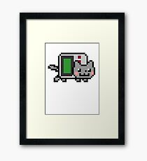 Gameboy nyan BIG!! Framed Print