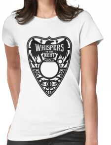 Whispers in the Night Podcast Merch Womens Fitted T-Shirt
