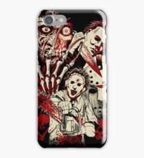 Horror guys iPhone Case/Skin