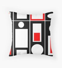 Modern Vibe 6 Throw Pillow