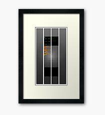 TARS Small Version Framed Print