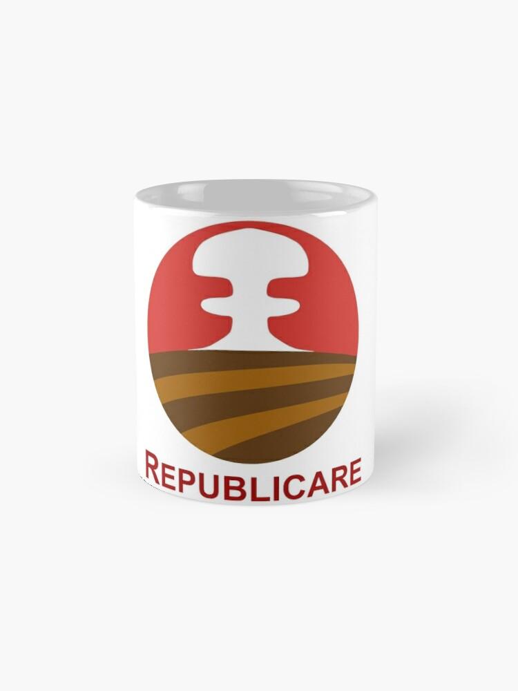 Vista alternativa de Taza Logotipo republicano