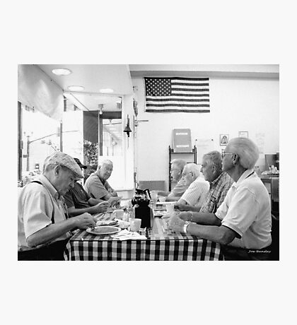 Coffee Club Main Street Bakery McMinnville Tennessee Photographic Print