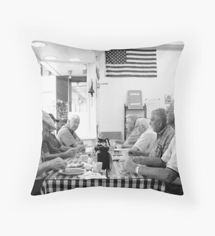 Coffee Club Main Street Bakery McMinnville Tennessee Throw Pillow