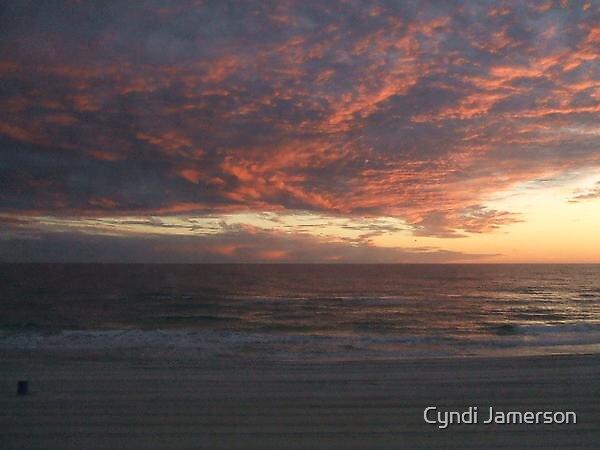 Stormy Sunset by Cyndi Jamerson