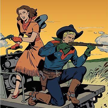 Cowboy Couple by Jenn84x