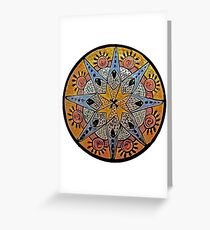 Southwest Compass Greeting Card