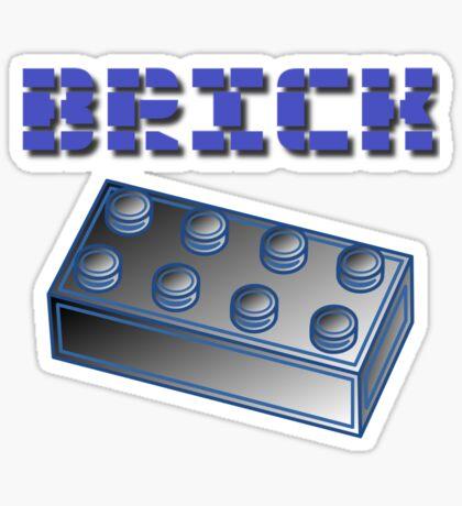 BRICK  Sticker
