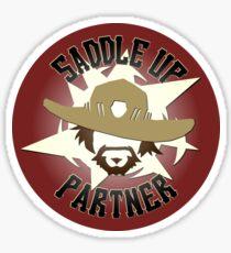 McCree - Saddle Up, Partner Sticker