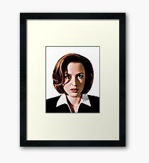 Dana Katherine Scully Framed Print