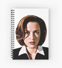Dana Katherine Scully Spiral Notebook