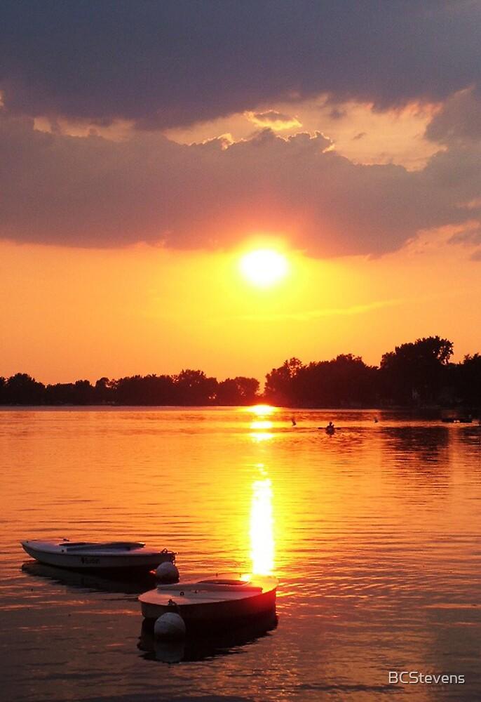 A Summer's Sunset by BCStevens
