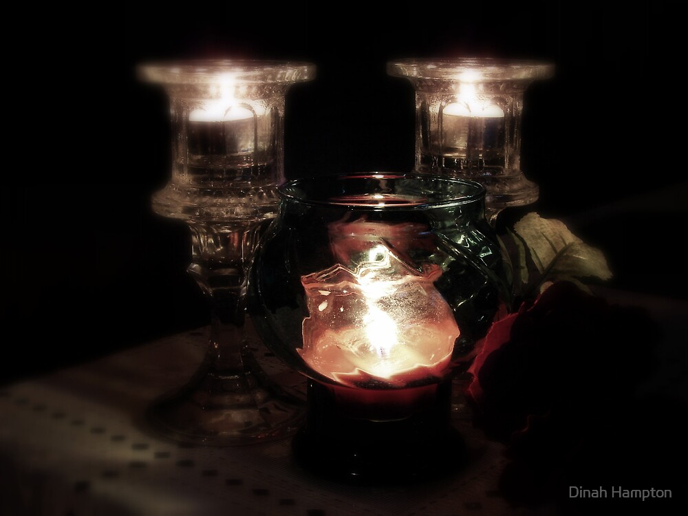 By Candle Light by Dinah Hampton