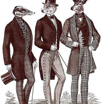 Gentlemen In The Woods by LiukSL