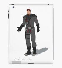 Lieutenant Pierce iPad Case/Skin
