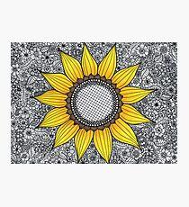 Sonnenblume-Muster Fotodruck