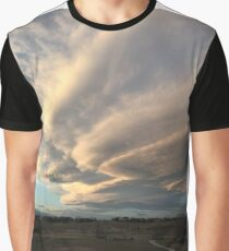 thunderstorm clouds Graphic T-Shirt