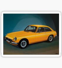 MGB GT Painting Sticker