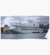 Pacific Dawn - Sydney Harbour HDR Poster