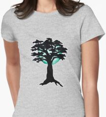 Season Trees: Spring Womens Fitted T-Shirt