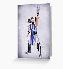 Raiden Greeting Card