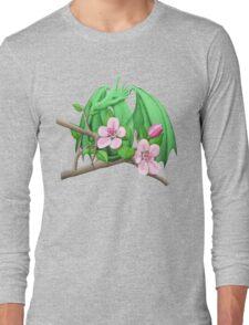 Spring Apple Tree Dragon Long Sleeve T-Shirt