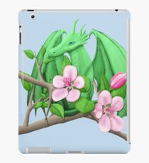 Spring Apple Tree Dragon iPad Case/Skin